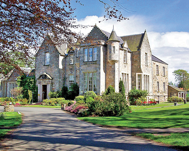 Kilconquhar Estate and Country Club (0439) in Fife, Scotland, is a week's timeshare ownership that Susan and Brian use to make RCI Holiday Exchange bookings because its high trading power value means the couple get several weeks away in exchange for this one.