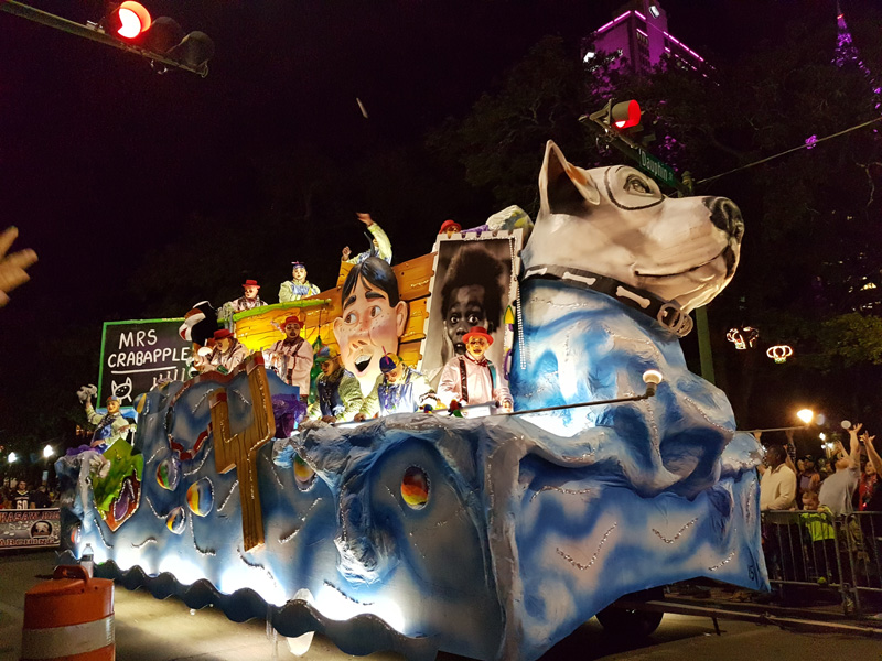 Mobile presents 37 parades during Mardi Gras season, so it is a fun and colourful time in Mobile.