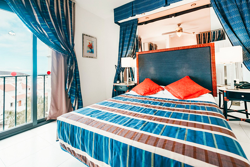 A bedroom at the Beverly Hills Heights resort speaks of the comfort and high-specification accommodation Sharon and her family had come to expect of timeshare. Shortly after taking on her parents' timeshare, Sharon and Marc upgraded their ownership with the purchase of a week at this iconic resort on the Spanish island of Tenerife.