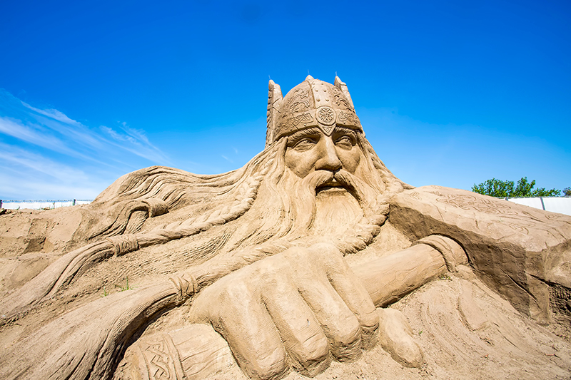 Sandland Antalya is a year-round exhibition of sand sculptures that will put your bucket and spade sandcastles on the beach to shame. Sculptures range from Roman Emperors to Egyptian Pharaohs, to Captain Jack Sparrow from Pirates of the Caribbean.