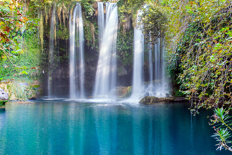 The Kursunlu Waterfalls are beautiful and well worth a visit. The falls are located at the end of a shaded forest trail, and the remote setting creates the perfect ambience for tranquillity.