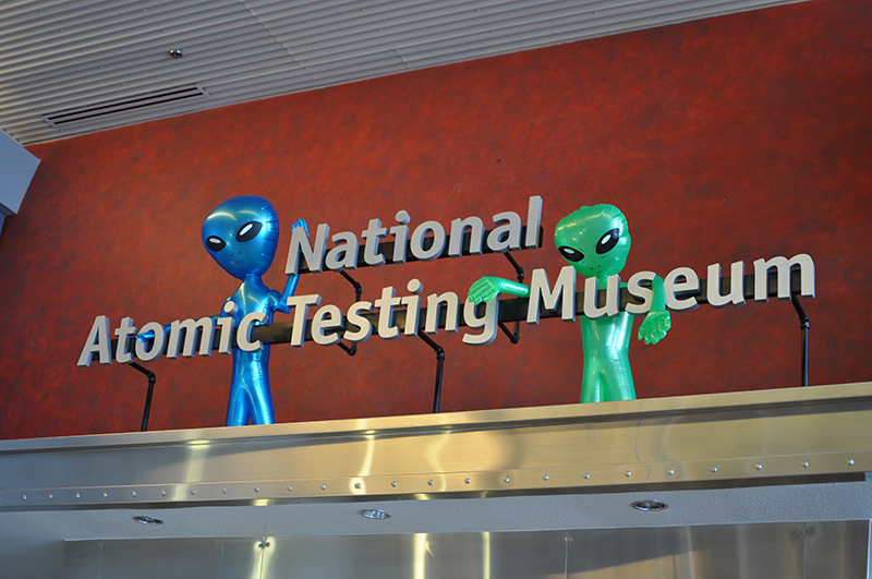 Visit the Atomic Testing Museum, which tells the enthralling story of nuclear power.