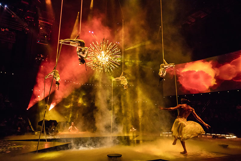 Cirque du Soleil are amazing acrobatic performers that will blow you away. Don't miss them!