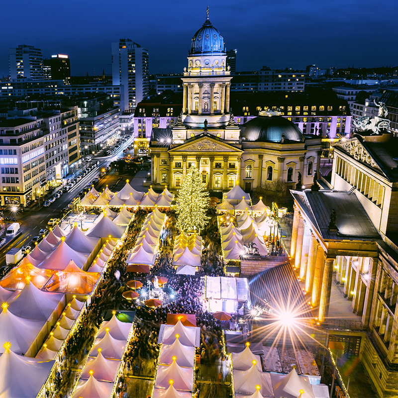 Christmas markets and Germany go hand in hand, and Berlin is no exception.