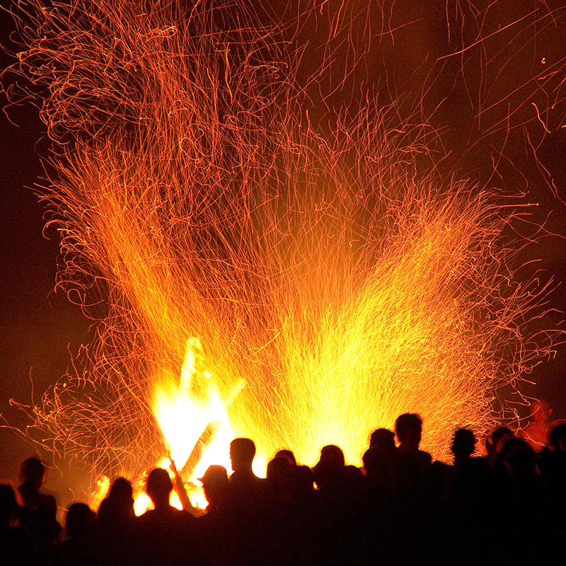 Remember remember the fifth of November... a night for fireworks, bonfires and making a Guy Fawkes to throw on the flames.