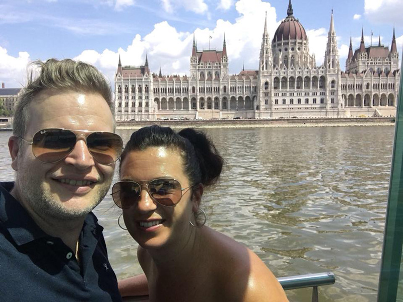 As Kane and Kara didn't have long to explore the city, they recommend going on a boat trip to see as much of it as possible. St. Stephen's Basilica was one of their favourite attractions.