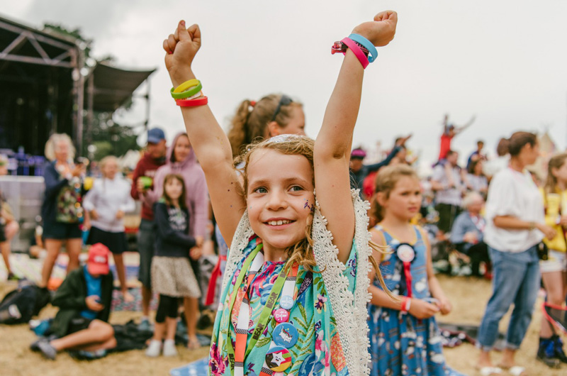 Camp Bestival is one of the many family-friendly festivals which caters for everyone, with music, art, theatre and fun for all the family on offer.