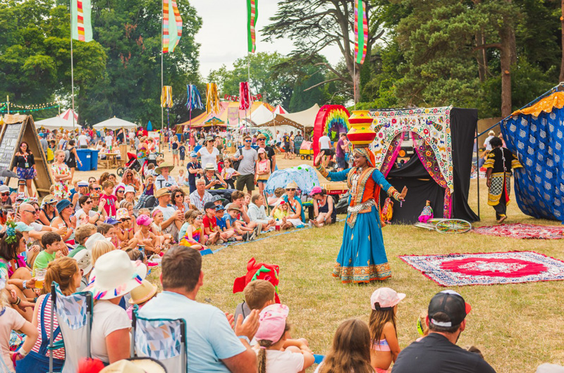 Camp Bestival, idyllically located near Dorset's iconic Jurassic Coast, is the family-friendly version of sister festival, Bestival.