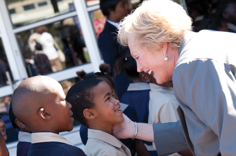 Christel DeHaan, RCI founder, spent a lifetime giving impoverished children a real future through her Christel House International charity.
