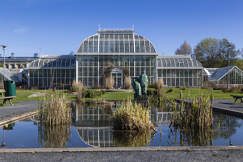You might not immediately think flowers and gardens when you think Finland, but Helsinki is home to the magnificent Kaisaniemi Botanic Garden which holds 800 differnt plant species in its greenhouse alone.