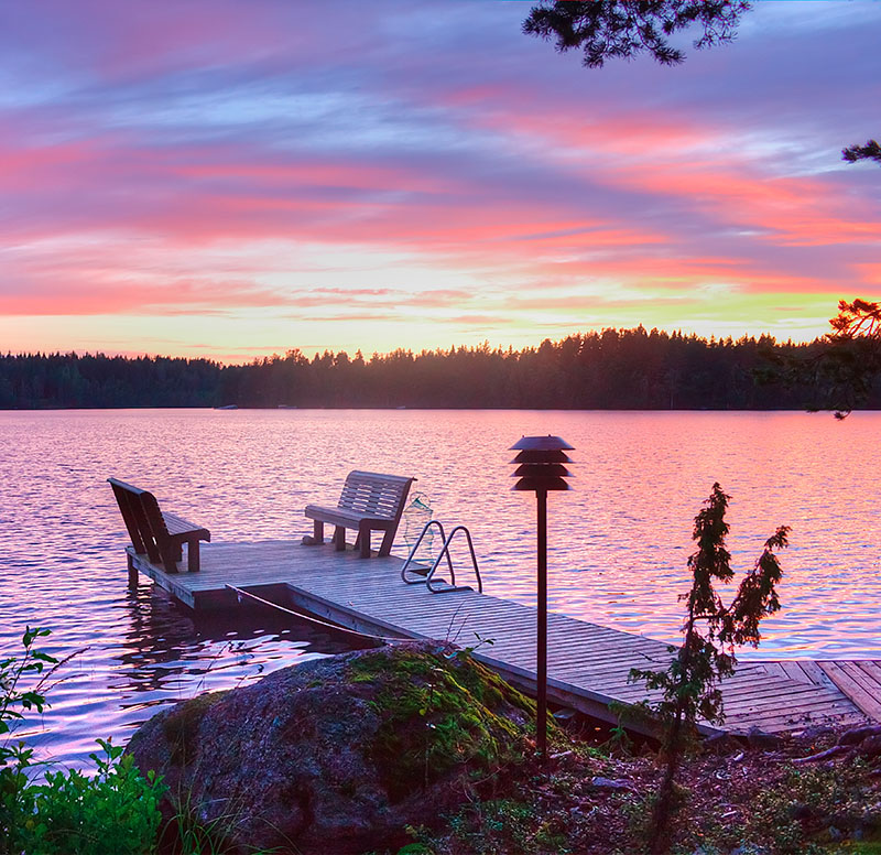 Finland has everything you need to make a great holiday - it even has Santa Claus! In the winter time, skiing is on the agenda and when the snow melts, there's hiking on the mountains or watersports on the lakes. Your options are endless.