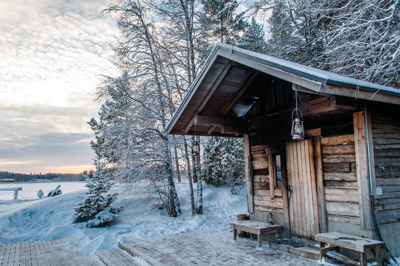 Known for spectacular vistas and glistening snow, Finland is also a popular spa destination. Though a dip in an icy lake is optional!