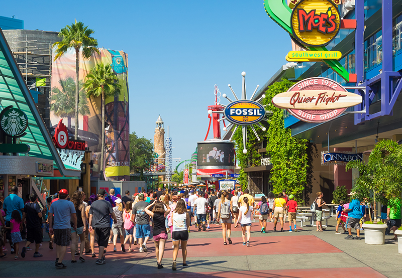 Take a break from all the rides and have a wander around the shops in Orlando; there are plenty to choose from, so go on, treat yourself to some Florida shopping!