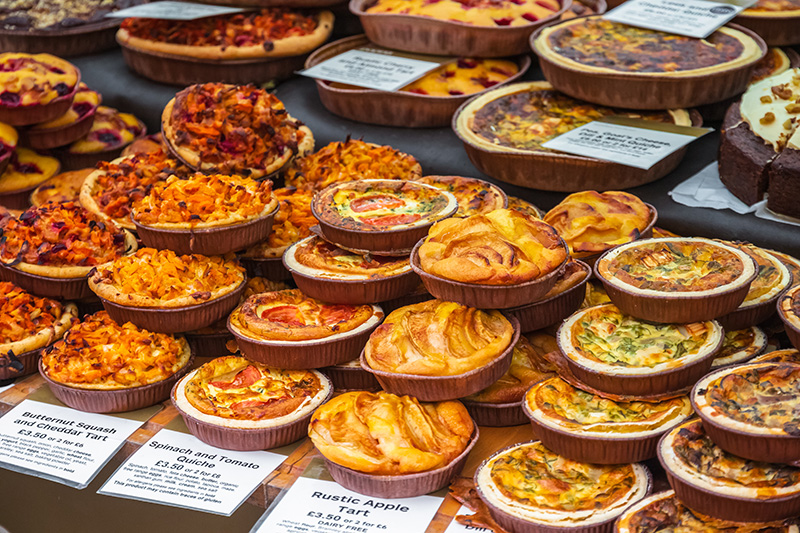 Taste of London is a twice-yearly festival, with over 50,000 foodies flocking to Regent's Park for their fill off all things food and drink.