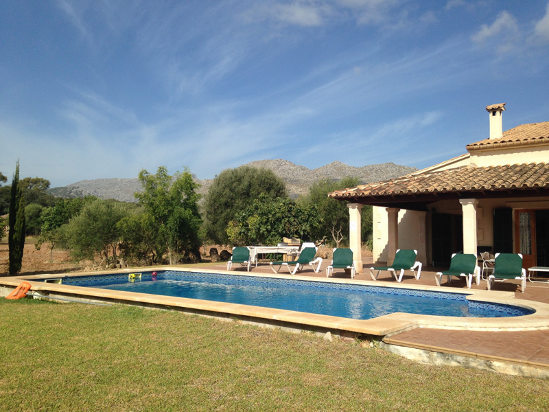 Susan recommends leaving reviews for other travellers, as well as reading theirs, to help you discover some great destinations and resorts you might not have considered visiting before. Pictured is the villa the friends stayed at in Mallorca, almost 40 years after their first meeting in the holiday resort, using Susan and Brian's RCI membership.