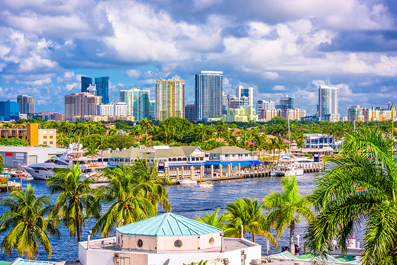 Fort Lauderdale is one of the many holidays in Florida that RCI member, Penny, has enjoyed during her 33 years of RCI membership.