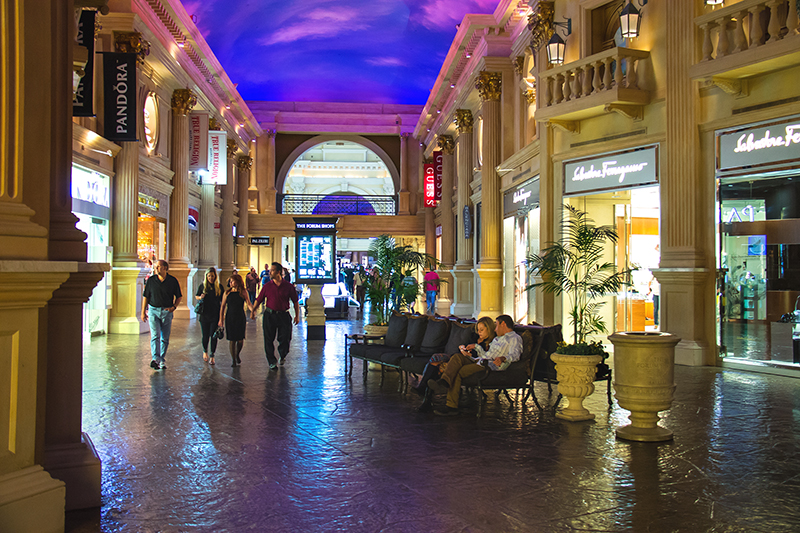 Forum Shops at Caesar's Palace, Las Vegas.
