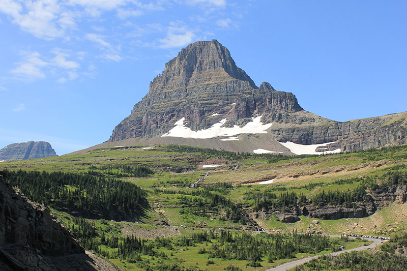 Glacier National Park offers incredible views for miles and miles. Make sure you get out of the car and explore on foot to really make the most of it.