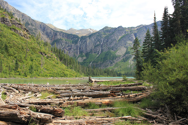 From Rocky highs to lush greenery and glistening lakes, Glacier National Park was one of Steve's favourite road trip stops.