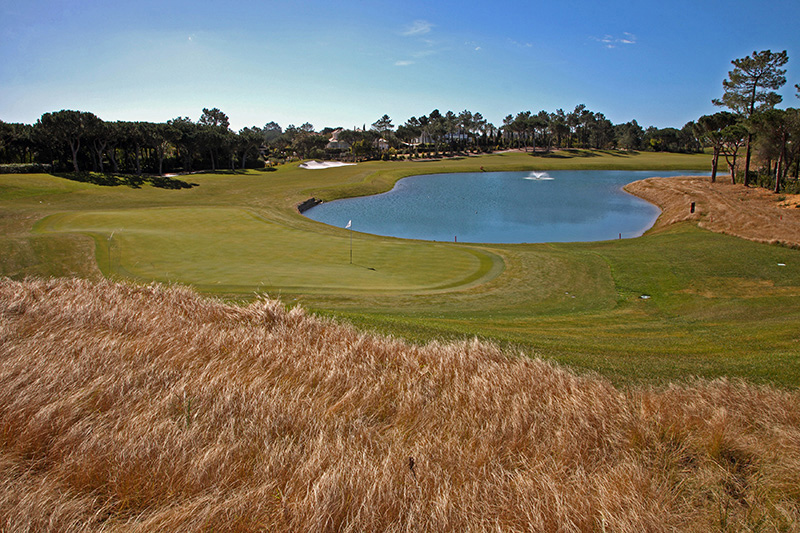 The Algarve's Quinta do Lago golf course has the only Paul McGinley Academy in the world and comes highly recommended. There are so many excellent courses to choose from in Portugal.