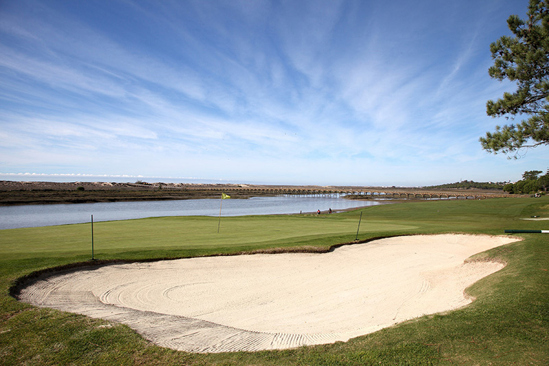 Portugal's Algarve is one of Europe's best holiday destinations to enjoy a round of golf or two - and golfers will be spoilt for choice. San Lorenzo, pictured above, is one of the areas top-rated courses.