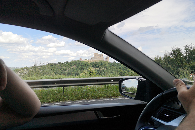 Hungary proved to be a very pretty country to drive around, with country roads taking the family past hilltop castles and tiny villages. The drive was certainly a holiday highlight for this family.