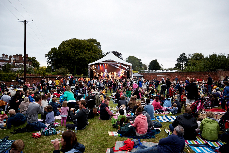 This laid-back festival, Just So Festival, is set in the parkland around Rode Hall, and designed for children and their families.