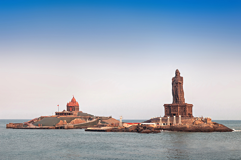 Kanyakumari, on India's southern tip, comes highly recommended by Sarah. Apart from its mystical beauty, it is also the place where Swami Vivekananda, the saint and philosopher, meditated atop a rock which is now named in his honour.