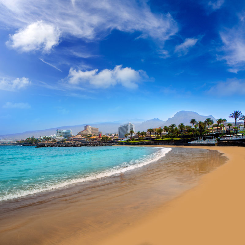 Playa de las Américas is a great sun, sea and sand destination in Tenerife for a fun family beach holiday