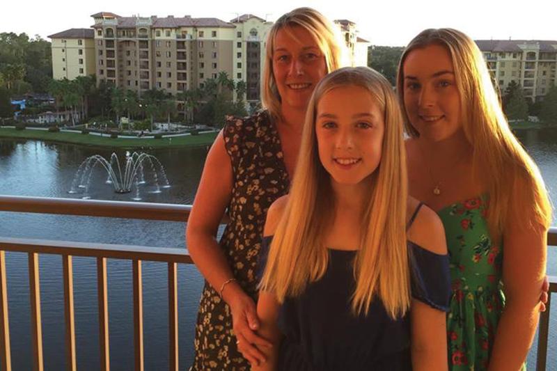Lynn, Kirstie and Robyn on holiday at Wyndham Bonnet Creek Resort (6369) in Florida.