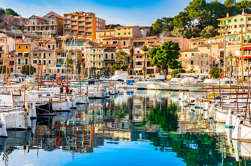 Mallorca is where the friendship blossomed 40 years ago and it remains a favourite holiday destination for the four friends.