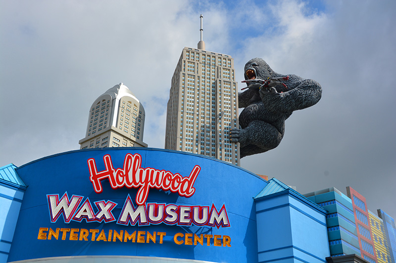 The Hollywood Wax Museum is just one of very many attractions which make Myrtle Beach on the US Atlantic Coast such a great place for your family holiday if you are looking for a good old-fashioned seaside getaway.