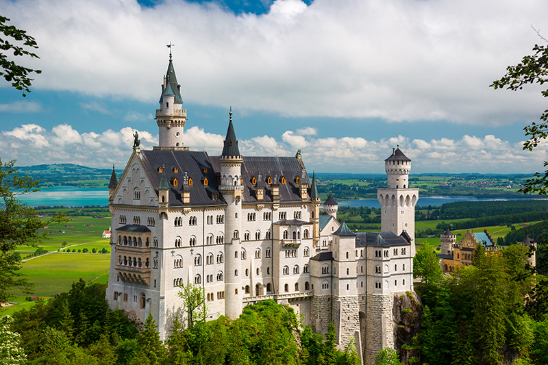 Other than beer, the other thing Bavaria is known for is its stunning castles. The region's best-known castle is Neuschwanstein, which provided the inspiration for the castle at Walt Disney's Magic Kingdom.