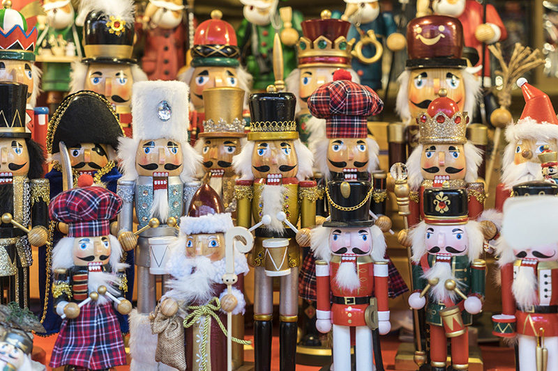 the german christmas markets offer gifts and seasonal decorations that are often hand crafted and have a wonderful traditional authenticity about them