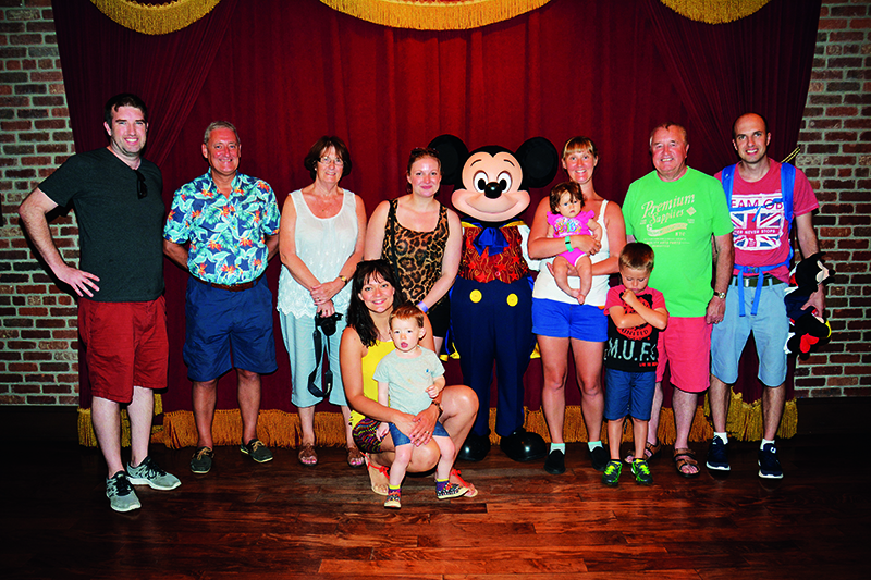 RCI members Terence and Sharon O'Connor, have spent years holidaying in Florida. These days they enjoy splitting their time between Walt Disney's Celebration in Kissimmee and the four villages that make up their favourite resort - Orange Lake Resort (0670).