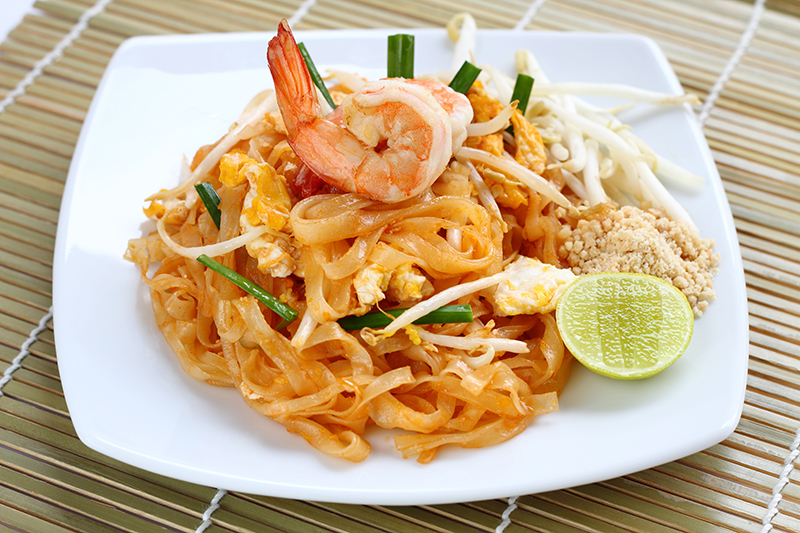 The delicious cuisine in Thailand is one of the holiday highlights - noodles, rice, several different curries - there is so much to choose from!