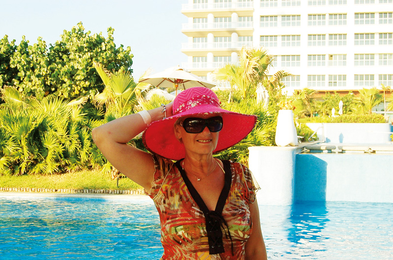 Pat enjoyed a fantastic holiday to Mexico using RCI Cruise & Exchange which gave her the best of the sea and shore holiday experiences.