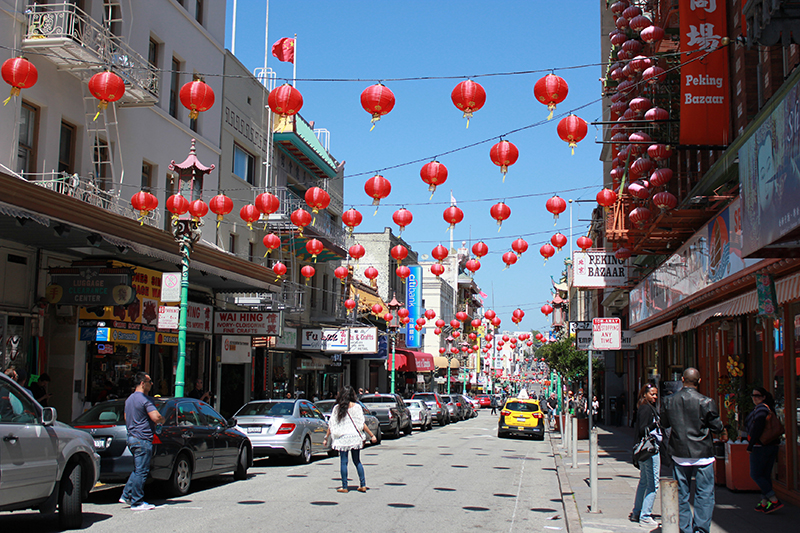 San Francisco holds the title for the largest Chinatown in the US, so it is worth exploring - and grabbing dinner while you're there.