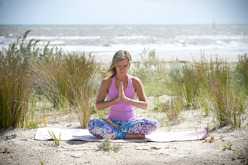 Sarah found that she lost all sense of time and urgency during her yoga retreat in India, saying it was the most peaceful and relaxed she can ever recall being.