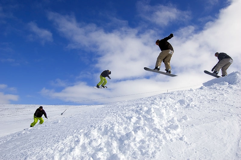There are five major ski centres in Scotland making it a fabulous winter destination for lovers of all sports that are snow related!