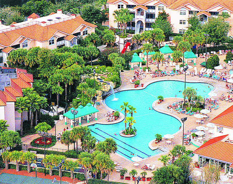 Sheraton Vistana Resort (0450) in Orlando has a vast amount of activities on offer for you to enjoy, including seven swimming pools, a golf course, numerous tennis courts, basketball and volleyball.