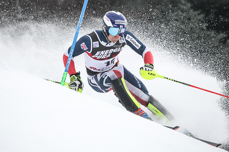 Dave 'The Rocket'  Ryding, has gone from the dry slopes of Lancashire to being ranked 8th in the world of international ski champions.