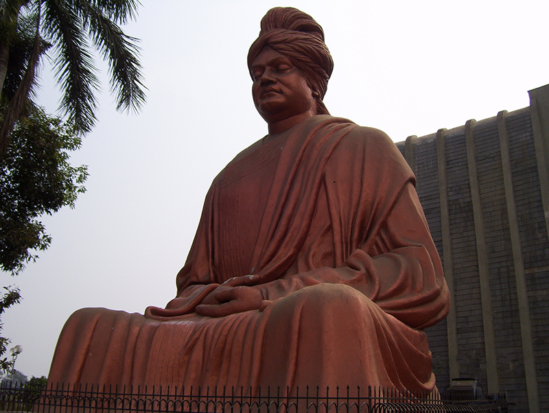 Swami Vivekananda, the saint and philosopher, is an inspiration to all those looking to find balance and peace in their lives, which is why many make the pilgrimage to the rock where he is said to have meditated to gain enlightenment.