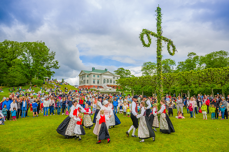 Sweden is a colourful and interesting destination. Every town and little village has its own summer festival of music, arts and crafts, which are always good fun to attend.