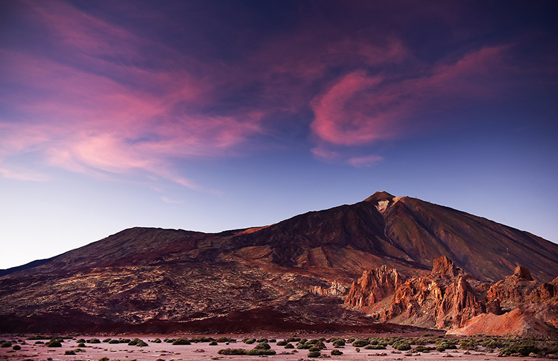 Mount Teide is equally impressive once the sun goes down and the stars come out. The Canary Islands are one of the best places in the world to see the stars, thanks to the clear skies. So for all those budding stargazers, leave the bars behind for the evening and head up Mount Teide and look up. It will be well-worth it.
