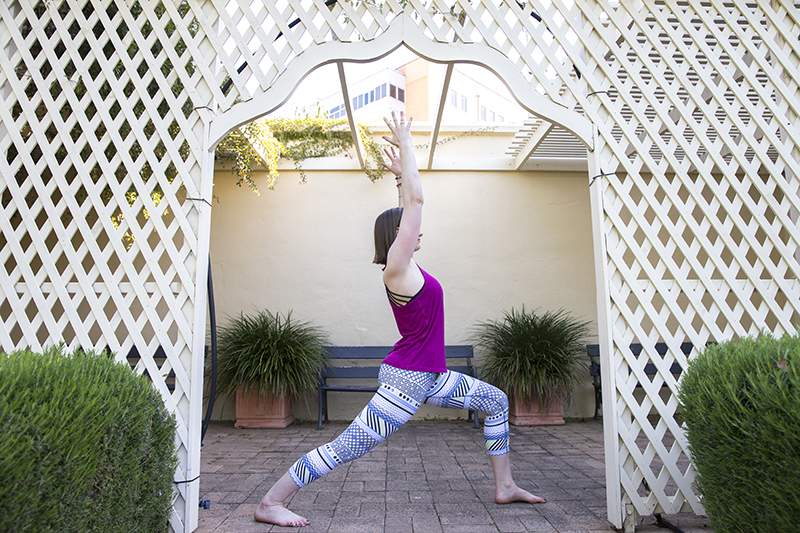 Warrior I – Virabhadrasana I - is a foundational yoga pose that will stretch your body core.