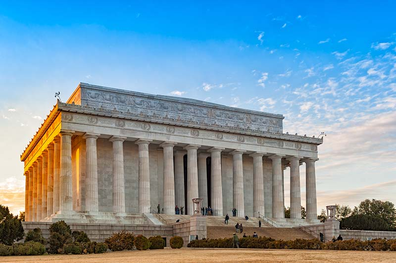 "The Lincoln Memorial is a symbol of freedom and civil rights. It was where Martin Luther King Jr gave his ""I Have a Dream"" speech during the March on Washington in 1963."