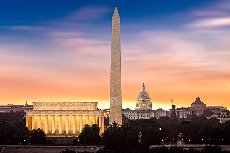The Mall is a national park, as well as the focal point of progressive marches, political demonstrations, historic speeches, and presidential inaugurations.