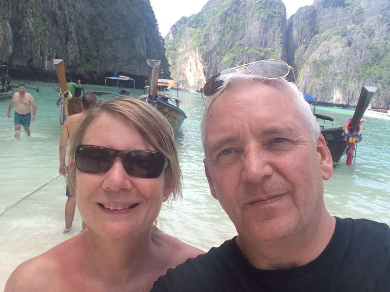Carmel and Ian decided to take their dream holiday to Phuket for Carmel's 60th birthday. They had such a great time, they're already planning a return trip.