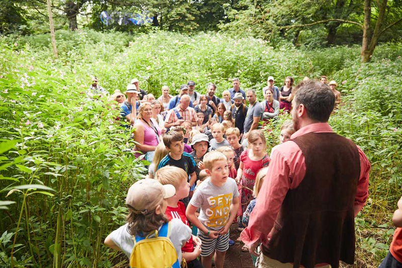 Deer Shed is a festival that makes children the main event, with child-friendly music, comedy, sporting activities, science, workshops, cinema, and more.